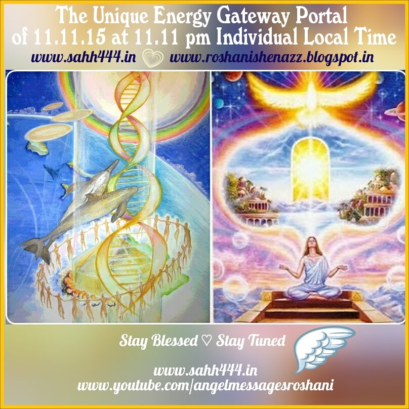 The Unique & Crucial Spiral Energy Gateway Portal of 11.11.15 at 11:11 PM Local Time