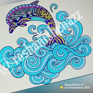 Healing Art - Dolphin WM