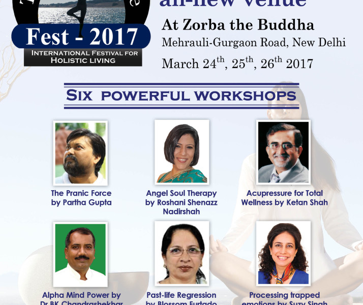 Roshani Shenazz in Delhi for Life Positive Expo and Sessions