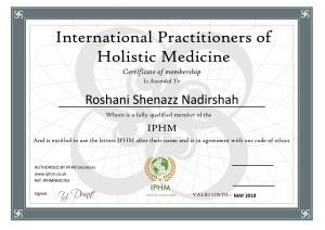 Roshani Shenazz Nadirshah CERT_001