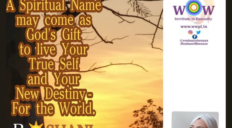 What is a Spiritual Name? – Roshani